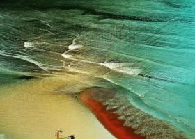 旅游发现中国最美的滩涂,感觉来到人间仙境